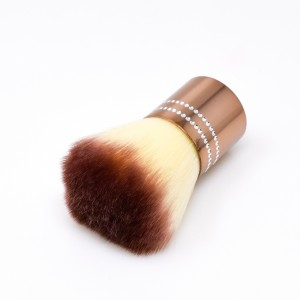 PENNELLO PER POLVERE - MAKE UP NUDE con brillantini