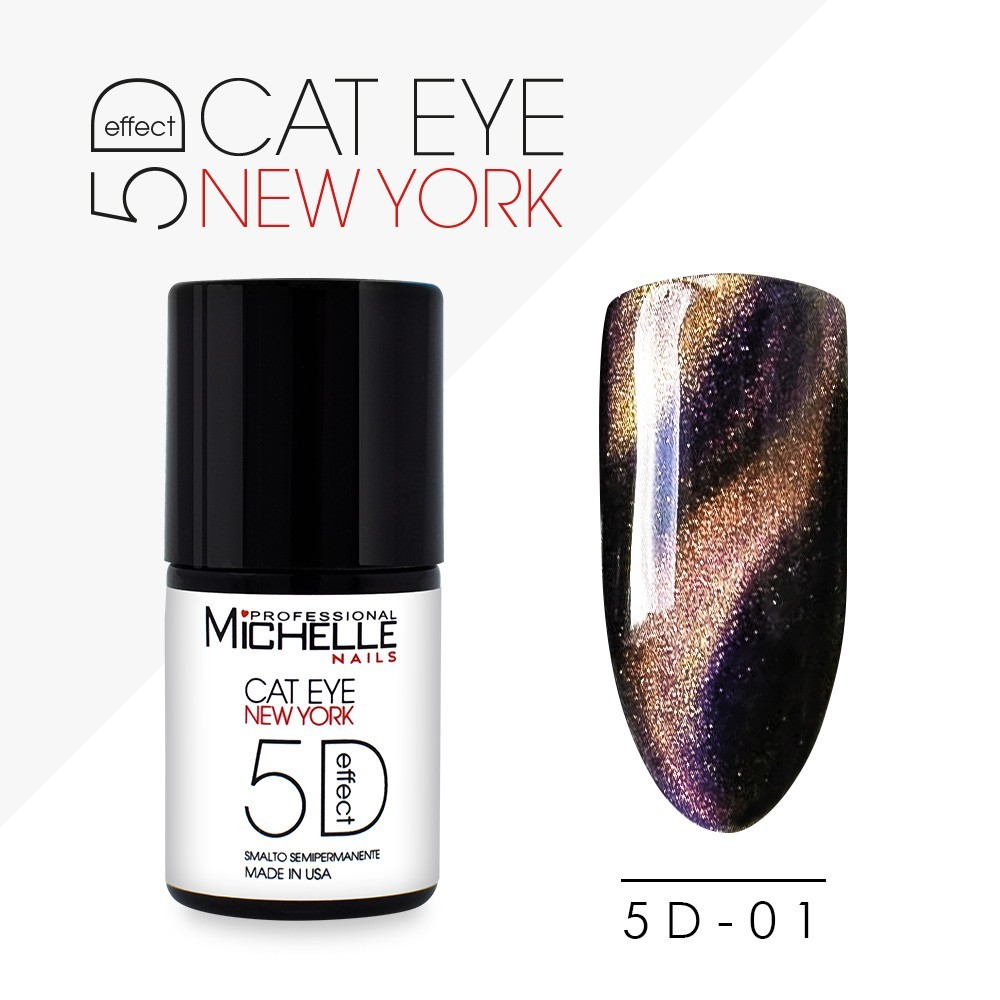 POLISH 5D CAT EYE New York - 01