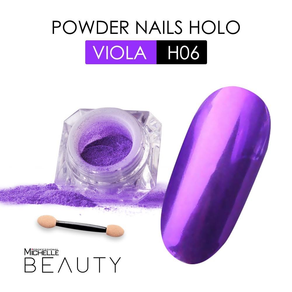 POLVERE OLOGRAFICA - VIOLA H06