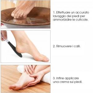 Rimuovi calli punta tonda con manico - Pedicure