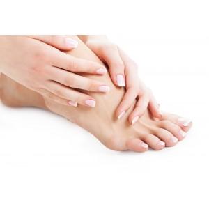 Tagliacalli professionale manico in plastica bianco - Pedicure