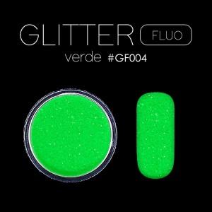FLUO GLITTER / POLVERE VERDE