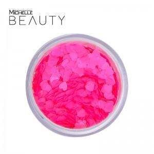 GLITTER / pigmento CUORI Rosa Fluo