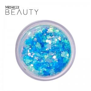 GLITTER / pigmento Mix polveri azzurro